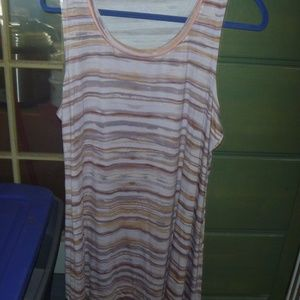 Sleeveless Striped Tank
